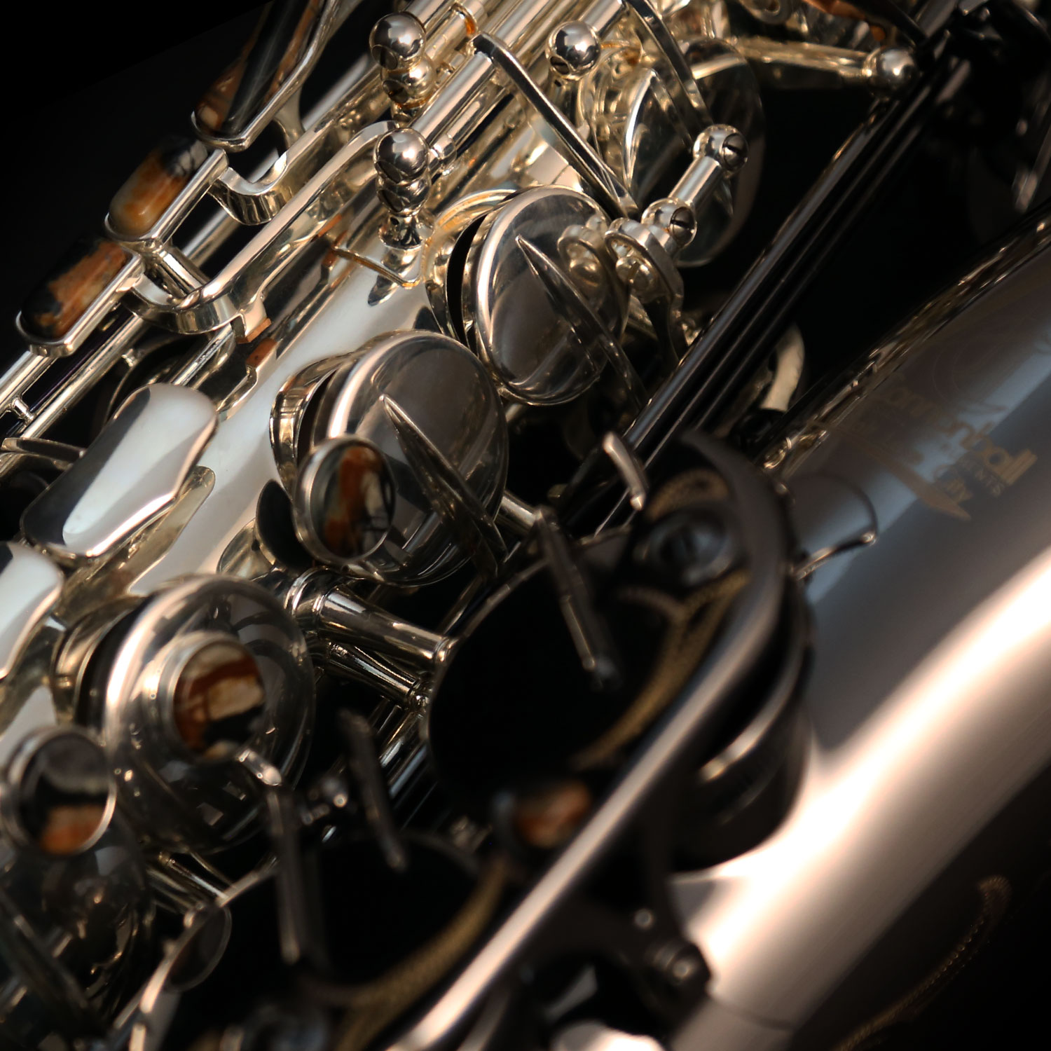 GERALD ALBRIGHT SILVER-PLATED/BLACK NICKEL ALTO